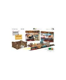 SET TREN FAR WEST CON DECORADOS VIA NEGRA