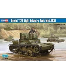 SOVIET T-26 LIGHT INFANTRY TANK 1931
