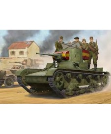 SOVIET T-26 LIGHT INFANTRY TANK 1935
