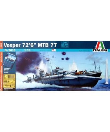 LANCHA TORPEDERA VOSPER 72,6 MTB 77