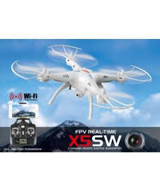 DRONE X5SW FPV REAL-TIME COMPLETO