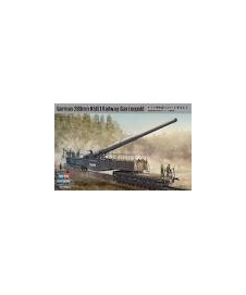 GERMAN 280MM K5 E RAILWAY GUN LEOPOLD