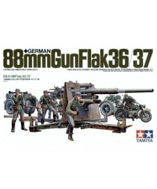 German 88 Mm Gun Flack 36/37