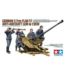 German 3.7 Cm. Flack 37 Anti-aircraft