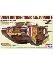 Tanque Britanico Male I Gerra Mundial 1/35