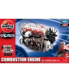 Motor Combustion Interna Con Sonido Y Luz