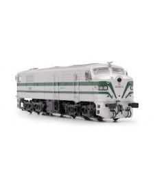 Locomotora Diesel Renfe 318plata Epoca Iii