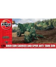 Bren Gun Carrier & 6pdr Anti-tank Gun
