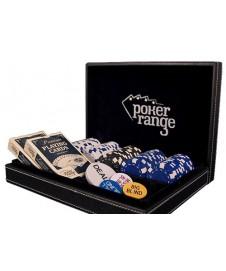 100 Fichas Poker 14 Gr, 2 Barajas Y 4 Marcadores En Caja Regalo