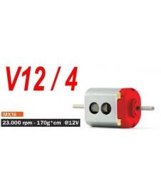 Motor V12/4 23000 Rpm Caja Corta Universal