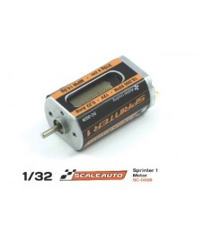Motor Sc-28 Sprinter Active Cooling System 18000 Rpm