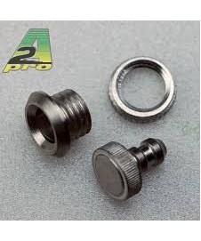 Tapon Aluminio+soporte Llenado