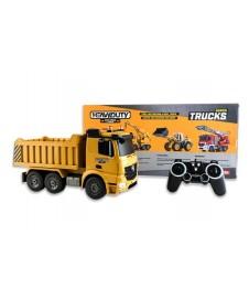 Camion Dumper Rc. Con Bateria Y Cargado