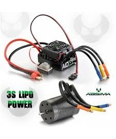 Combo Brushless 1/10 Waterproof