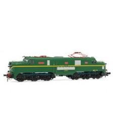 Locomotora Electrico Renfe 277.014 Verde-amarillo