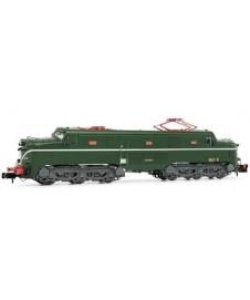 Locomotora Electrica 277.048 Verde -plata