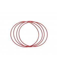 Correa De Transmision Caucho Roja .1 Mm Sec ,58mm