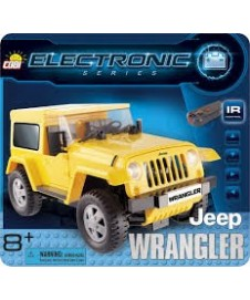 Coche En Kit Jeep W. Con Rc.