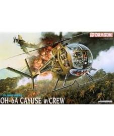 Oh-6a Cayuse Con Tripulacion