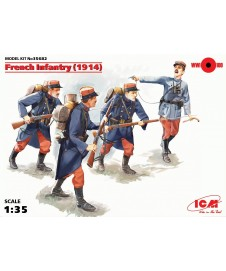French Infantry 1914
