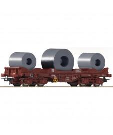 Vagon Coilcar Renfe Marron