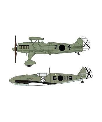 He51b-1 Bf109e-3 Legion Condor