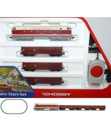 Set Inicio H0 Diesel Br119 Con Tres Vagones Db