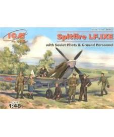 Spitfire Lf. Ixe W Pilots