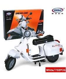 Kit Bloques Moto Vespa 732 Piezas