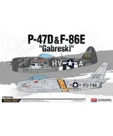P-47d Y F86e