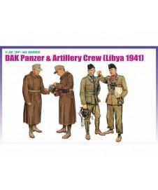 Dak Panzer W Artillery Crew Libya 1941
