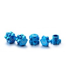 Exagono Con Tuerca 17 Mm. Azul