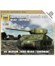 Us Medium Tank M4az Sherman