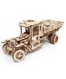Camion Madera Con Movimiento