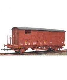 Vagon Cerrado Rojo Material Ponferrada