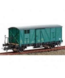 Vagon Cerrado Verde Material Ujo