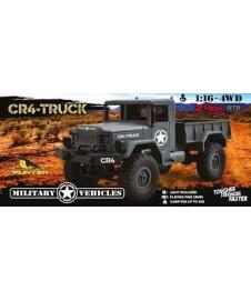 Camion Militar 1/16 Funtek Gris