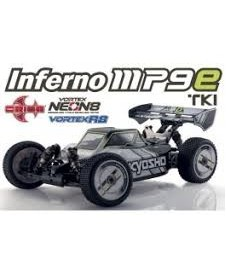 Inferno Mp9e Rtr Completo A Falta Bateria Y Cargador