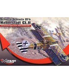 Avion Halberstadt Dl.ii Schusta, 1º Guerra