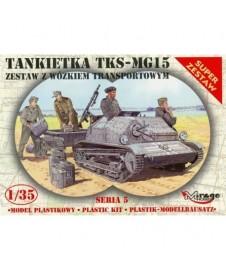 Carro Tks-mg15 Y Remolque Transporte
