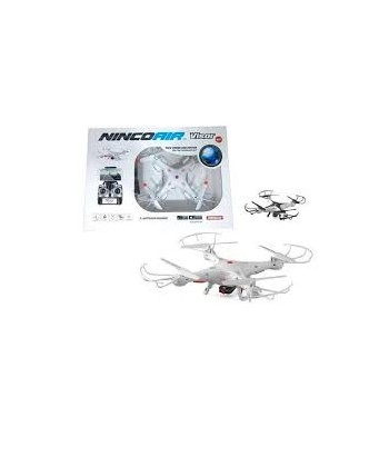 Drone Visor Wifi, Control Altitud Y Dos Baterias
