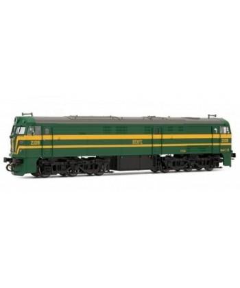 Locomotora Diesel Renfe 321 Verde Y Amarillo
