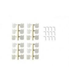 Bisagra 11,2x11,2 Mm. 6 Unidades