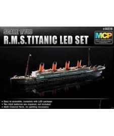 Rms Titanic Set Con Luces Led.