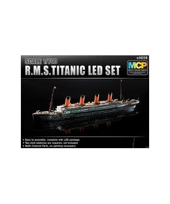 Rms Titinic Set Con Luces Led.
