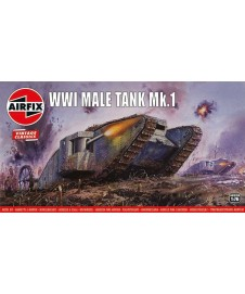 Carro Wwi Male Tank Mk.i