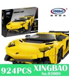 Kit Bloques Lamborghini Amarillo