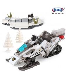 Bloques Moto Militar Nieve