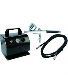 Compresor D30 + Aerografo