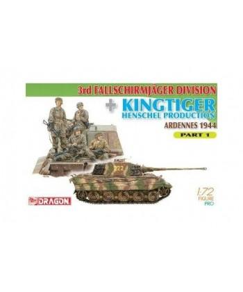 Fallschirmjager Division + Kingtiger Ardennes Part 1
